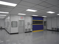 ISO 7 Certificated Cleanroom for Microelectronics and Semiconductor Industry