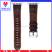 38/42mm genuine leather watch band for apple watch band sport