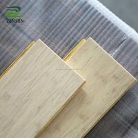 Waterproof high gloss natural brushed lime wash bamboo flooring
