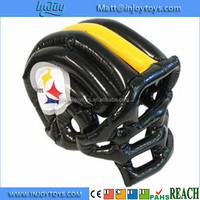 Football Fan Halloween Costume Inflatable Blow Up Helmet