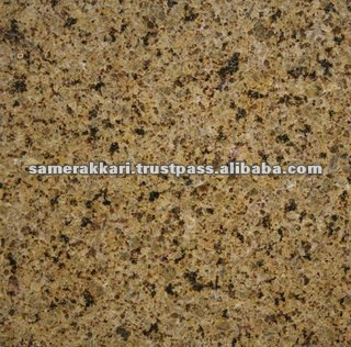 Golden Leaf Polished Yellow Granite Tile