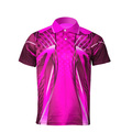 China Manufacture Design Wholesale Polyester Spandex Printed Custom Mens Polo T Shirt