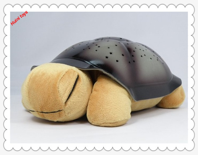 Educational baby toy cute turtle plush light up toy promotional stuffed soft plush toy night light