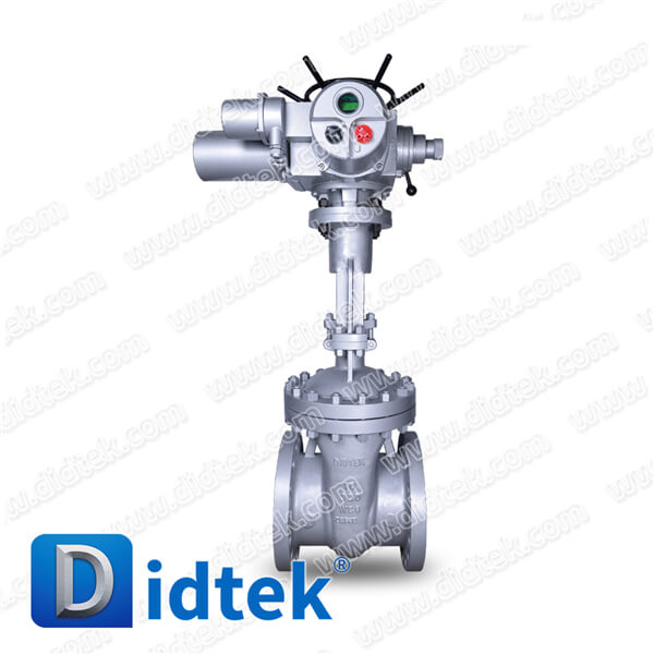 Didtek API flanged cast steel electric actuated ANSI bolted bonnet os&y Carbon Steel stem Class 150 300 600 900 gate valve stem