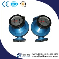 China Manufacturer Hight Quality oval flow meter, oval gear flow sensor, palm oil flow meter