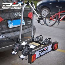 New product TOLA bicycle carrier rack rear mounted bike carrier for 2 bikes