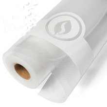 China suppliers nylon/pe plastic clear embossed air channel vacuum sealed packing bag roll