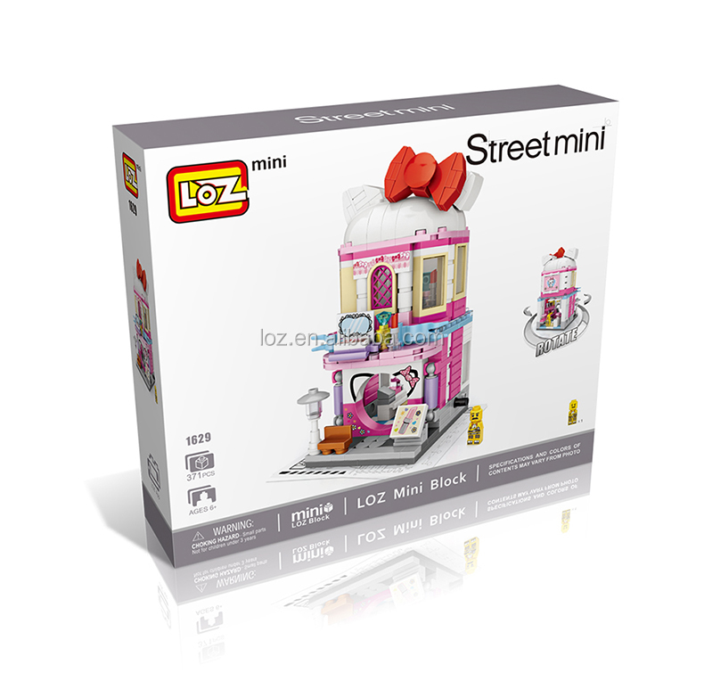2019 kid educational toy import toys directly from china (loz block toy street view)