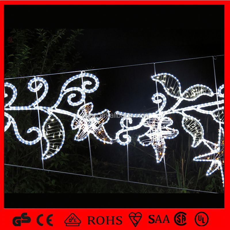 OB-SL led light street motif skylines decorations home accents holiday led lights