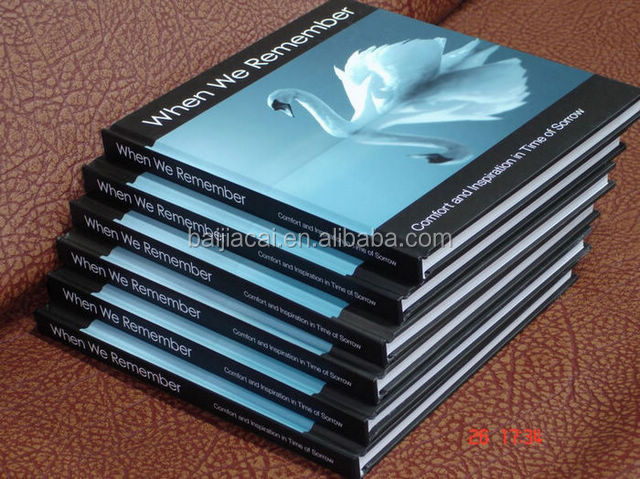 2016 High Quality Full Color Printing Hardcover My Hot Book