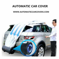 The car hood smart remote control automatic car cover rain proof for sell