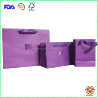 Custom Printed handle paper Bag with Rope Handle,Luxury Gift Bag
