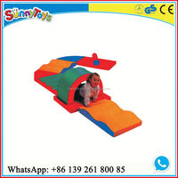 Indoor kids soft play soft foam padding for playground