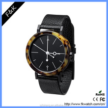 Exclusive design men lady famous brand leather wrist watches car watch