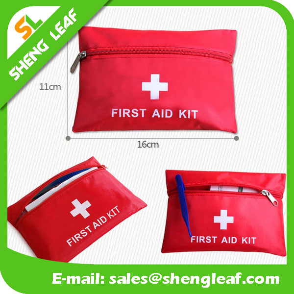 HOT! , Emergency kit, Small first aid kits red bag