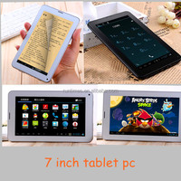 Android4.2 Bluetooth 4.0+GPS+FM+Battery 4000MAH+ROM8G+RAM1G Quad Core IPS Screen MTK8382 Dual Sim Card 2G 3G 7 Inch Tablet