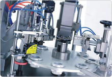 New Semi Automatic Laminated Tube Filling and Sealing Machine for cosmetics Toothpaste Lotion Cream