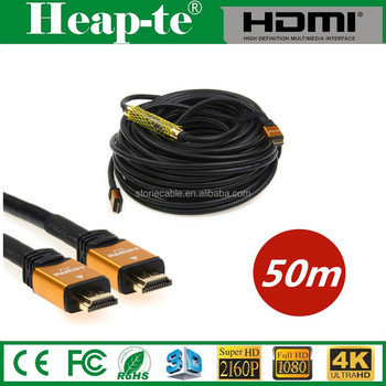 High Speed 50m HDMI Cable with Ethernet - with Repeater 4K 2.0 3D v1.4