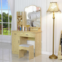 High quality antique vanity dresser table and chair with mirror