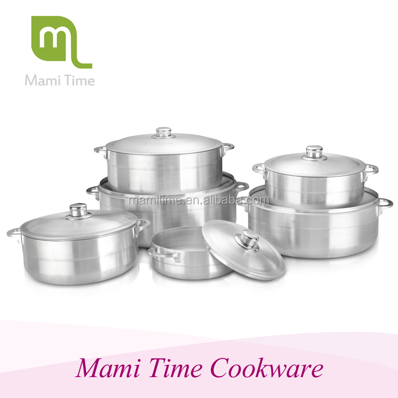 Chinese hot sales healthy cooking kitchen utensil aluminum sanding pot