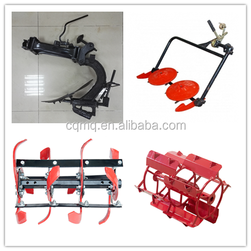 Electric start diesel cultivator for ploughing usage