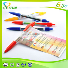 2015 Most Popular promotional logo advertising banner pen