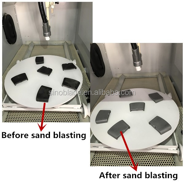 Metal Spare Part Cleaning Sand Blasting Cabinet