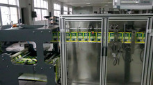 Mini Doypack Zipper Horizontal Packing Machine for powder, granule, paster and liquid