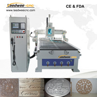 LWM1325C auto tool changer wood cnc router for furniture making