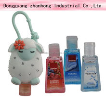 Hello kitty silicone hand sanitizer holder for wholesale