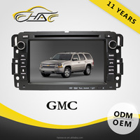 high quality for gmc sierra car dvd player with tv ipad bluetooth