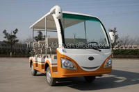 hot sale and cheap electric touring bus with 6& 8& 11&14 seaters in for sale in china