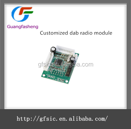 hot sale Customized dab radio module support fmusbsdauxmp3 Module