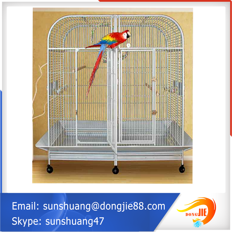 ISO certification collapsible wire pet cage in china