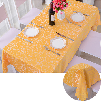 nappe rosette petal glitter pvc ruffled table cloth roll