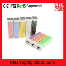 lipstick power bank,power bank low cost,2000mAh power bank