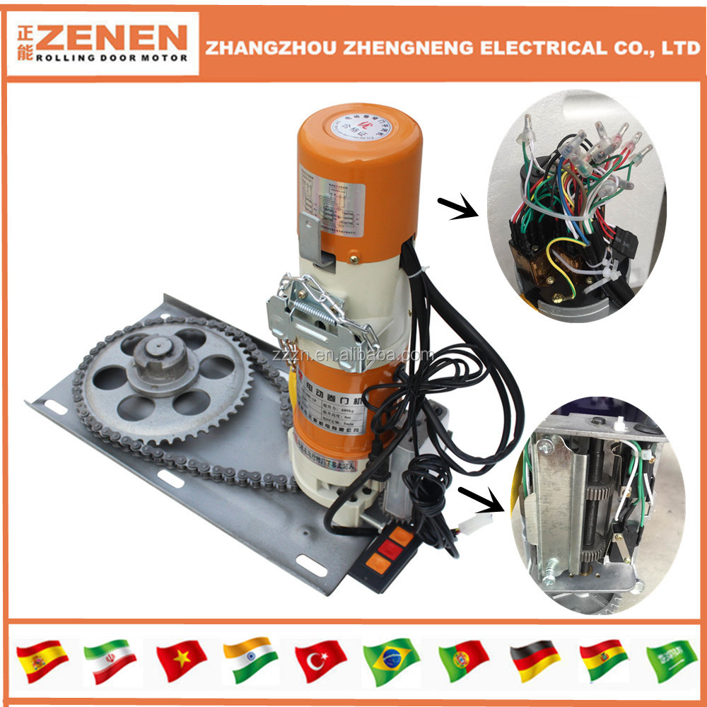 Electric motor.rolling garage door opener/motor/operator,door machine,rolling up door opener
