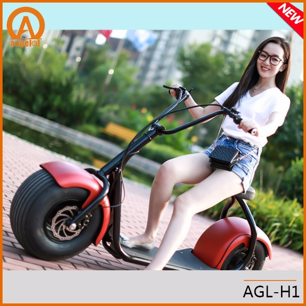 City Mobility Citycoco 800W Brushless Adult Safe Electric Scooter 2 Wheels Electric Motorcycle