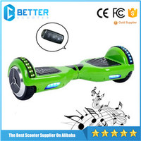 Free Shipping 6.5 inch Electric Hoverboard With Bluetooth And Entertaining