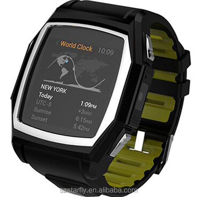 latest wrist watch mobile phone GT68 With Heart Rate Monitor GPS Tracker Compass Three-Proof
