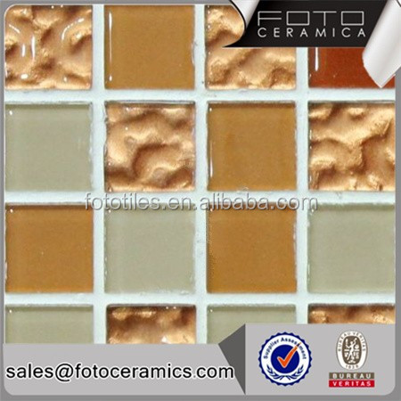China factory glass mosaic tile patterns for tables