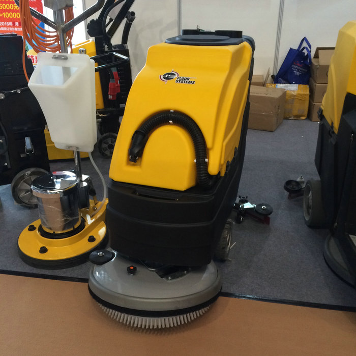 C5 walk behind floor cleaning machine auto scrubber