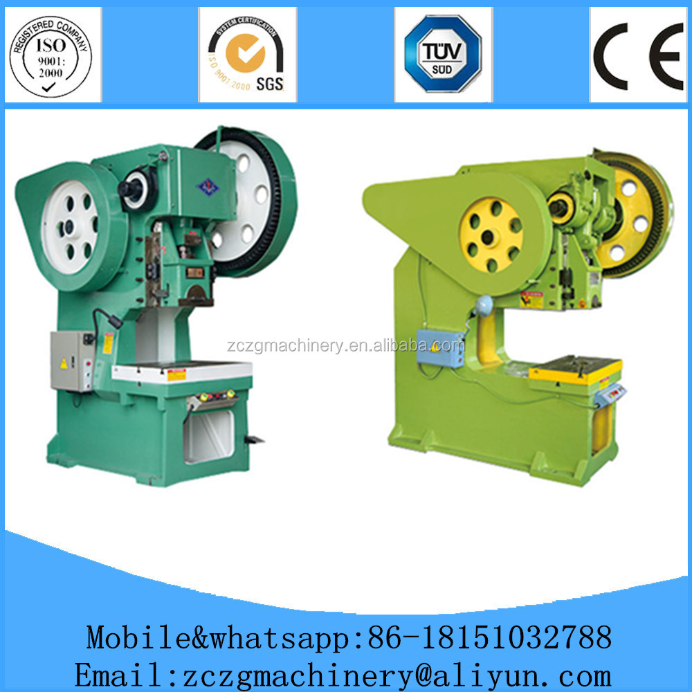 Cheap and good manual stamping machine J21S-35 used mechanical power press with 2 years warranty
