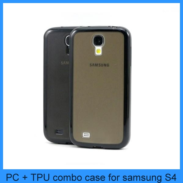 For Samsung Galaxy S4 TPU Cover Case Bumper Skin Silicone New i9500 PC Matte Clear