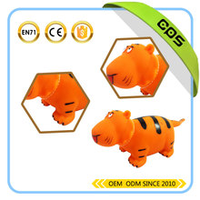 Special design cute tiger shape toy animals figure