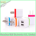 Wholesale 5V 1A wall charger for iphone samsung usb wall charger has low cost