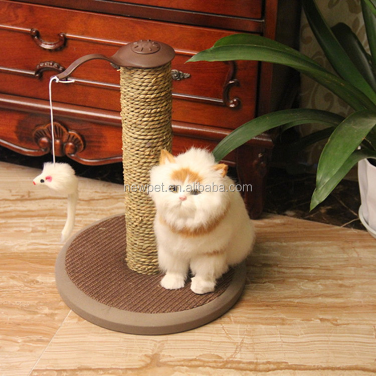 Top grade reasonable price cat climbing column tree economic sisal rope scratcher cat toy