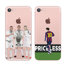 Wholesale Phone Back Cover For Samsung Galaxy S8 S8 Plus Soft TPU Cartoon Football Star
