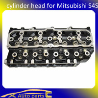 For mitsubishi auto spare part, cylinder head for mitsubishi s4s Forklift 3.3D MD344160