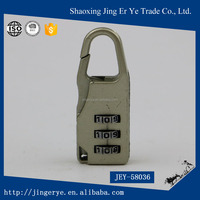 Gold Metallic long high-secrity code lock
